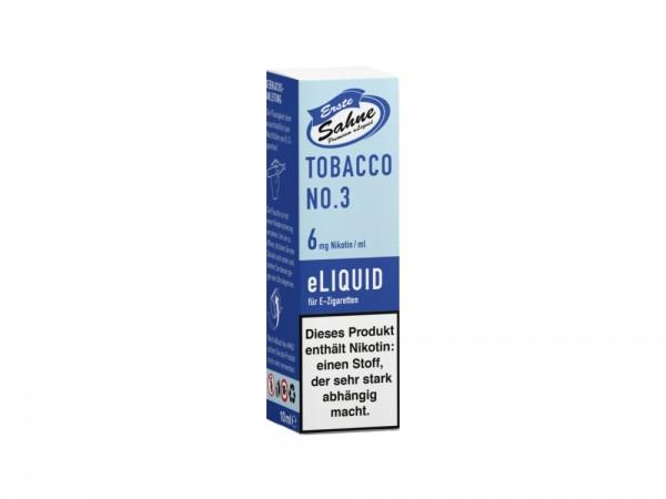 Erste Sahne Tobacco No. 3 - E-Zigaretten Liquid