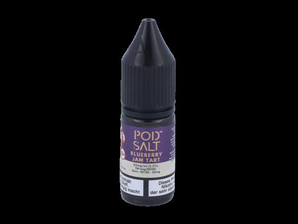 Pod Salt Fusion - Blueberry Jam Tart - E-Zigaretten Nikotinsalz Liquid 20mg/ml