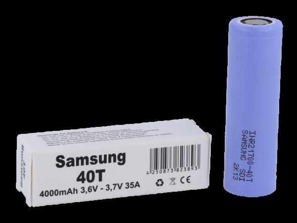 Samsung 40T 21700 4000mAh