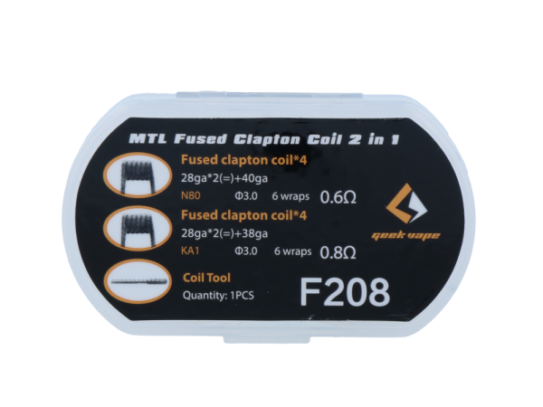 GeekVape MTL Fused Clapton Coil 2 in 1 Set