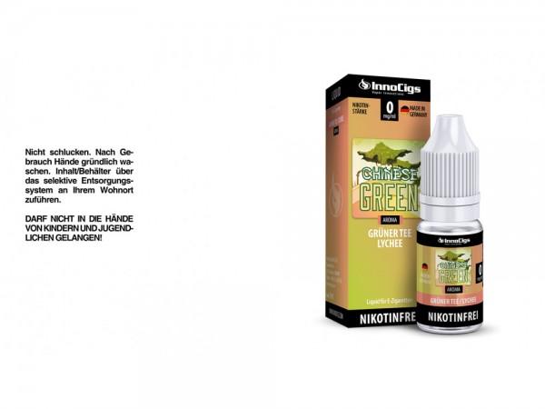 Chinese Green Grüner Tee-Lychee Aroma - Liquid für E-Zigaretten