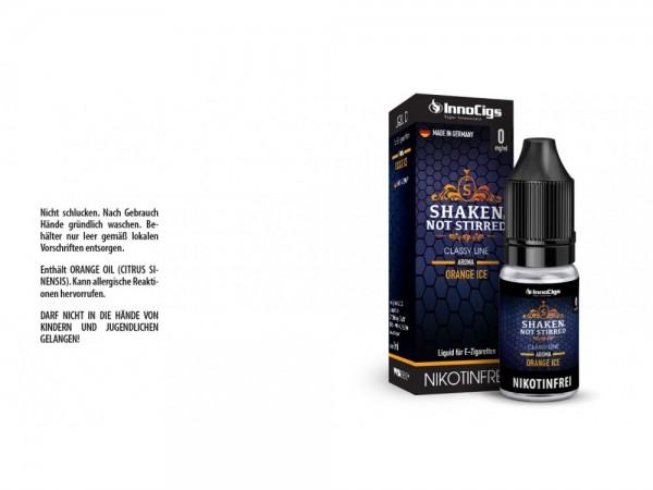Shaken, not stirred Orangen Aroma - Liquid für E-Zigaretten