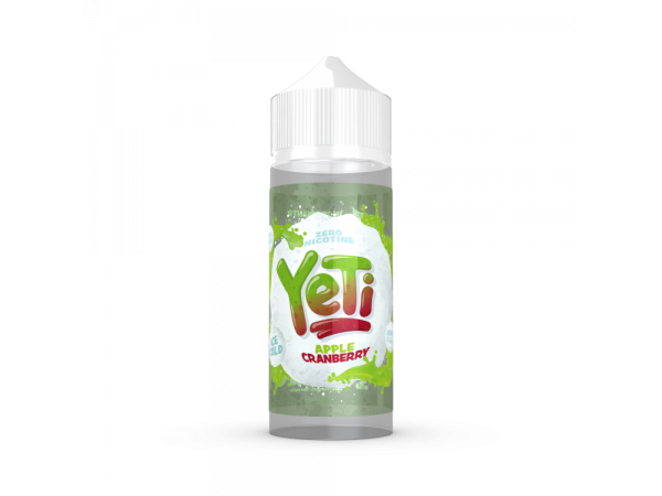 Yeti - Apple Cranberry - 0mg/ml 100ml