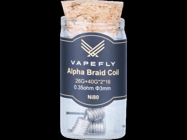 Vapefly Ni80 Alpha Braid Clapton Coil (6 Stück pro Packung)